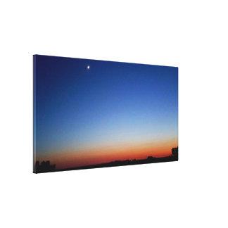 Impressão Em Canvas Céu do deserto
