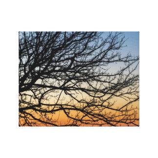 Impressão Em Canvas Céu do inclinação no inverno