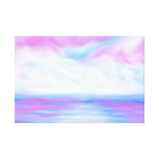 Impressão Em Canvas Céu grande