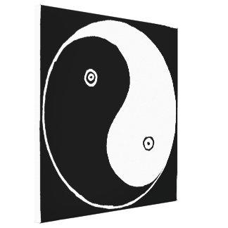 Impressão Em Canvas Chinês velho Yin e símbolo de Yang