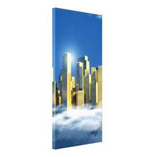 Impressão Em Canvas Cidade celestial 2-3