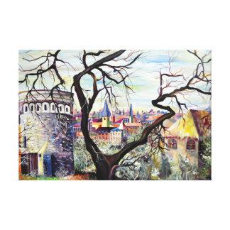 Impressão Em Canvas Cidade do bohemian de Dreamscape Luxembourg