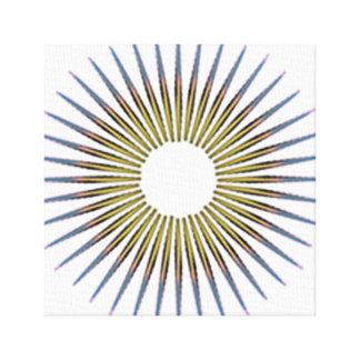 Impressão Em Canvas círculo