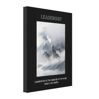 Impressão Em Canvas citações de inspiração inspiradores da liderança