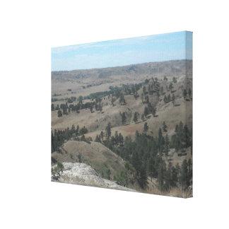 Impressão Em Canvas Colinas altas do deserto