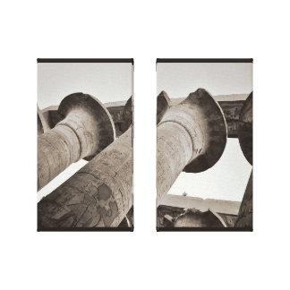 Impressão Em Canvas Colunas de Karnak