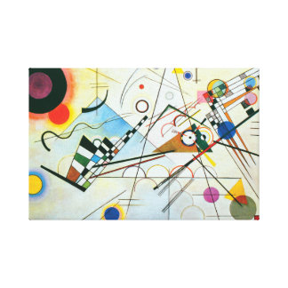 Impressão Em Canvas Composição VIII por Wassily Kandinsky