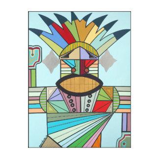 Impressão Em Canvas Conquistador de JAH