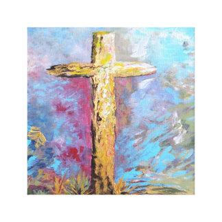 Impressão Em Canvas Cores da cruz