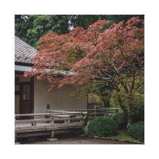 Impressão Em Canvas Cores da queda no jardim