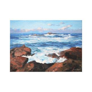 Impressão Em Canvas Costa de mar