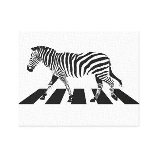 Impressão Em Canvas Cruzamento de zebra