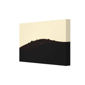 Impressão Em Canvas Curvas de paisagem