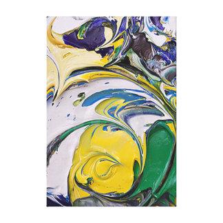 Impressão Em Canvas Derramar da cor