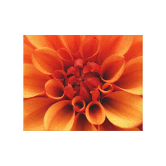 Impressão Em Canvas Design alaranjado da foto da flor  