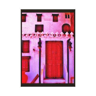 Impressão Em Canvas Design árabe da casa