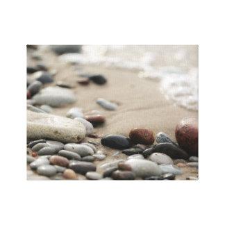 Impressão Em Canvas Design da foto do beira-mar  