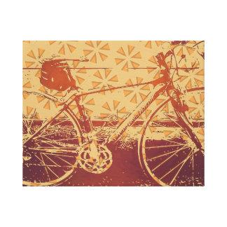 Impressão Em Canvas Design Indie da bicicleta