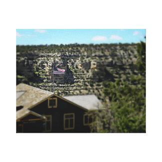 Impressão Em Canvas Deus abençoe América! Grand Canyon 2017