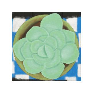 Impressão Em Canvas Deve amar Succulents