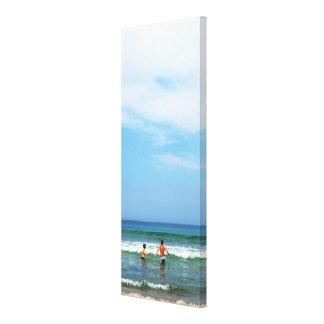 Impressão Em Canvas Dia da praia