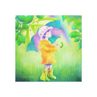 Impressão Em Canvas Dia de Lainny