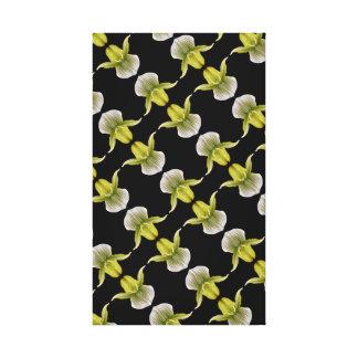 Impressão Em Canvas Diagonal da orquídea