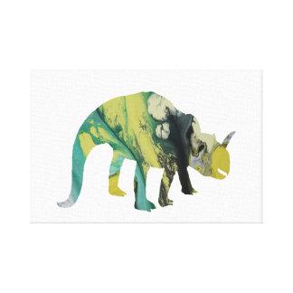 Impressão Em Canvas Dinossauro