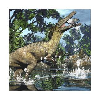 Impressão Em Canvas Dinossauro de Austroraptor
