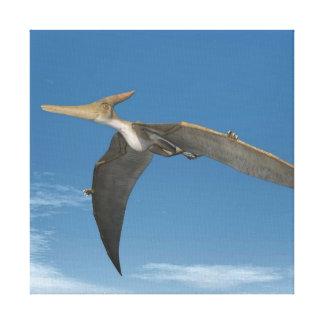 Impressão Em Canvas Dinossauros de Pteranodon que voam - 3D rendem