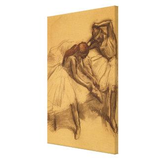 Impressão Em Canvas Dois dançarinos