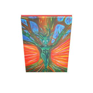 Impressão Em Canvas Dríade da árvore - criação de vida