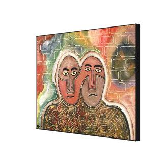 Impressão Em Canvas Duas figuras pelo rafi talby