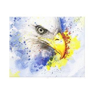 Impressão Em Canvas Eagle o predador