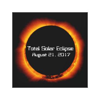 Impressão Em Canvas Eclipse 2017 solar total
