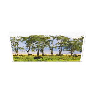 Impressão Em Canvas Elefantes africanos de Kenyas