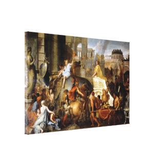 Impressão Em Canvas Entrada de Alexander em Babylon