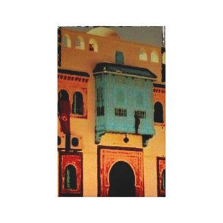 Impressão Em Canvas Entrada, Tunísia, Norte de África