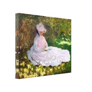 Impressão Em Canvas Envoltório do impressionismo da primavera de