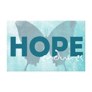 Impressão Em Canvas Esperança