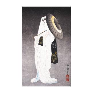 Impressão Em Canvas Espírito de Taniguchi Kokyo da donzela da