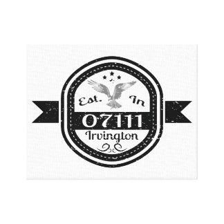 Impressão Em Canvas Estabelecido em 07111 Irvington