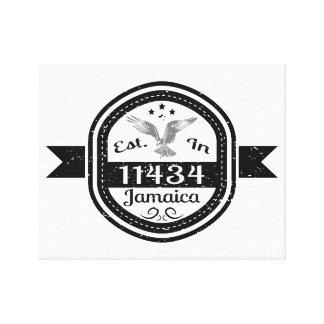 Impressão Em Canvas Estabelecido em 11434 Jamaica