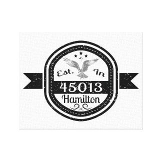 Impressão Em Canvas Estabelecido em 45013 Hamilton