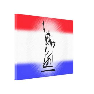 Impressão Em Canvas Estátua da liberdade New York