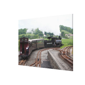 Impressão Em Canvas Estrada de ferro da montanha de Brecon, Wales 2