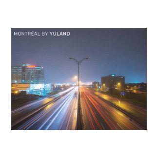 Impressão Em Canvas Estrada de Montréal da passagem superior