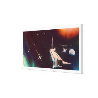 Impressão Em Canvas Estrela uma (horizontal)