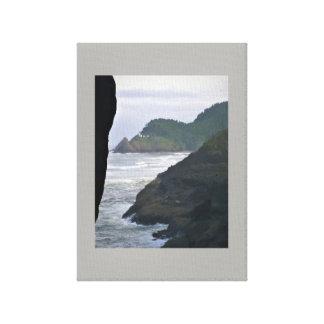 Impressão Em Canvas Farol de Heceta & leões de mar principais
