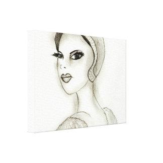 Impressão Em Canvas Flapper sofisticado